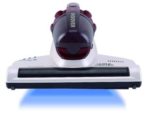 Matratze von Milben befreien mit dem Hausstauballergie Hoover UV Licht Milbensauger